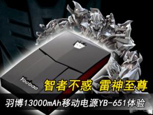 移动电源 充电宝 YB-651 13000毫安